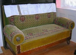 Kanapee Sofa obergeschoss